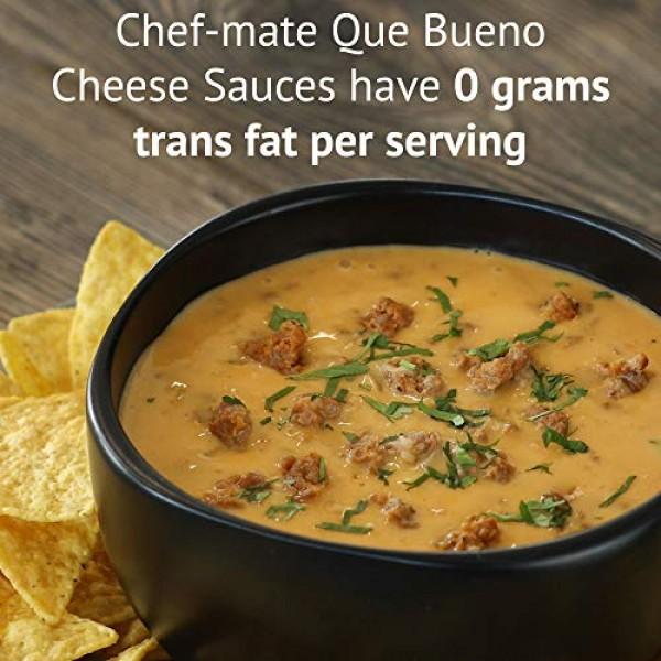 Chef-mate Que Bueno Spicy Nacho Cheese Sauce, Jalapeno Queso, Ca...