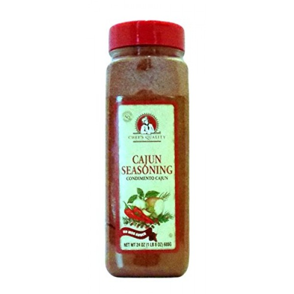 Chefs Quality Cajun Seasoning 24 OZ