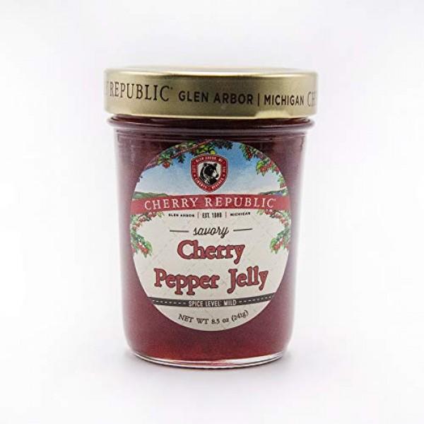 Cherry Republic Cherry Pepper Jelly - Generous Chunks of Michiga...