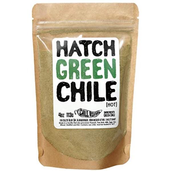 Hatch Green Chile Powder 4oz Hot