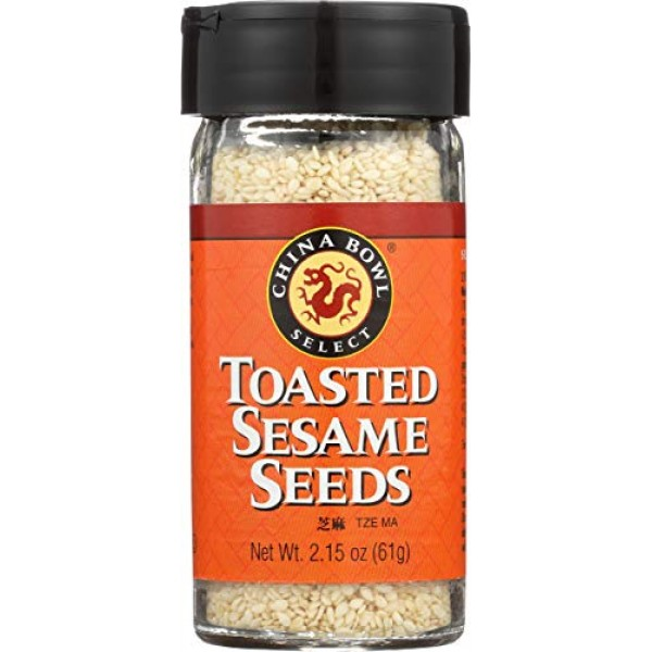 China Bowl, Sesame Seeds Toasted, 2.15 Ounce