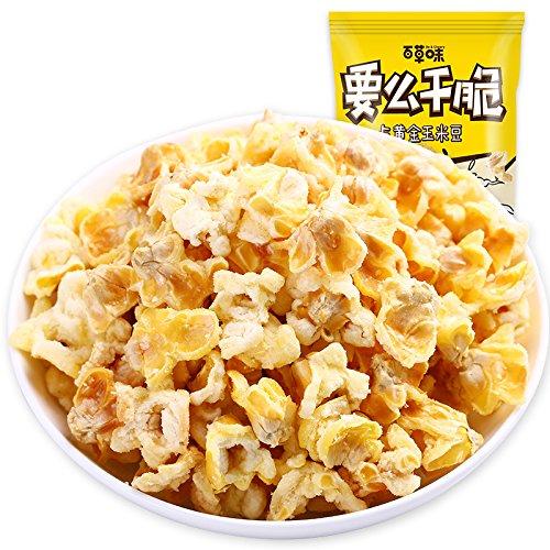 China food co. LTD. 百草味黄金玉米豆70g/包蛋花玉米休闲办公零食爆...