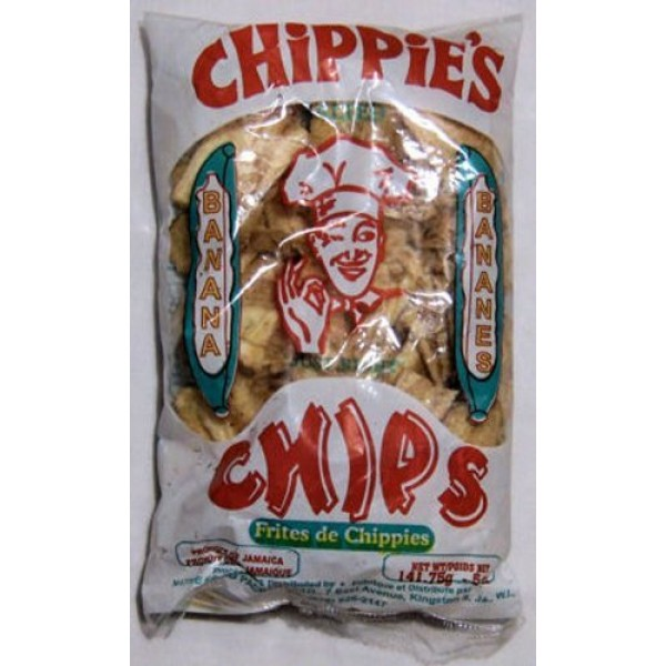 Chippies Banana Chips - 1oz Pack of 12
