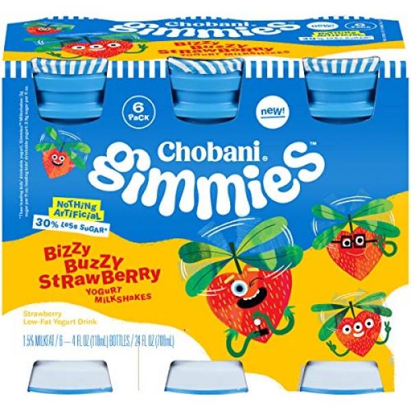 Chobani Gimmies Protein Packed Yogurt Milkshakes 4 ounce, 6-Coun...