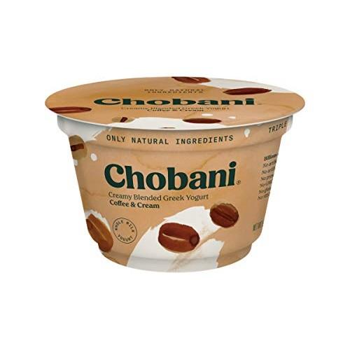 Chobani 2 Percent Coffee Blended Greek Yogurt, 5.3 Ounce -- 12 p...