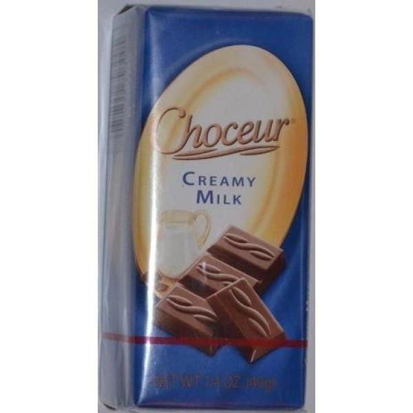 Choceur Creamy Milk 1.4 OZ 5 Pack
