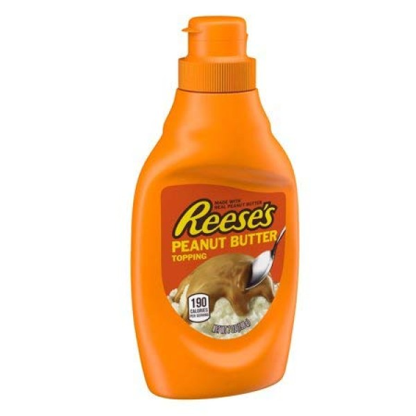 Reeses Chocolate & Reeses Peanut Butter Toppings 2 Set / 7.25o...