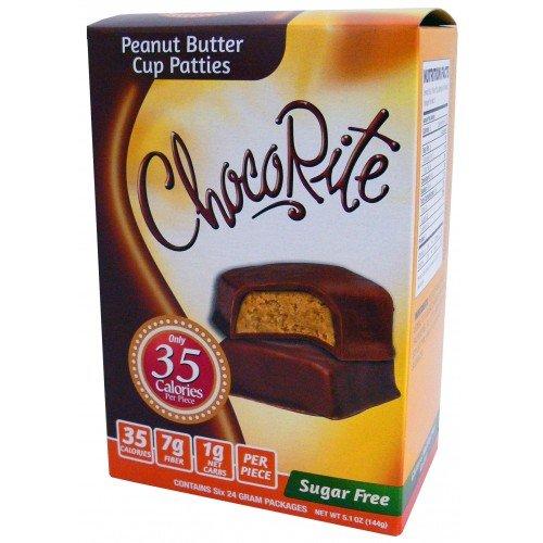 Chocorite chocolate value pack -6 24 gram bars-sugar free-35 cal...