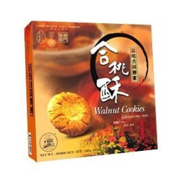 Choi Heong Yuen Walnut Cookies 340g Box