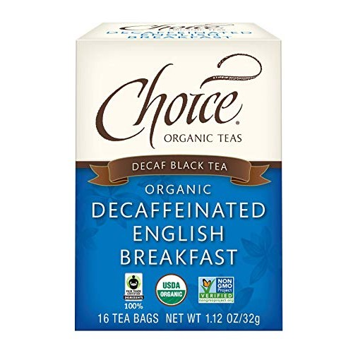 Choice Organic Teas - Decaffeinated English Breakfast Tea - Orga...