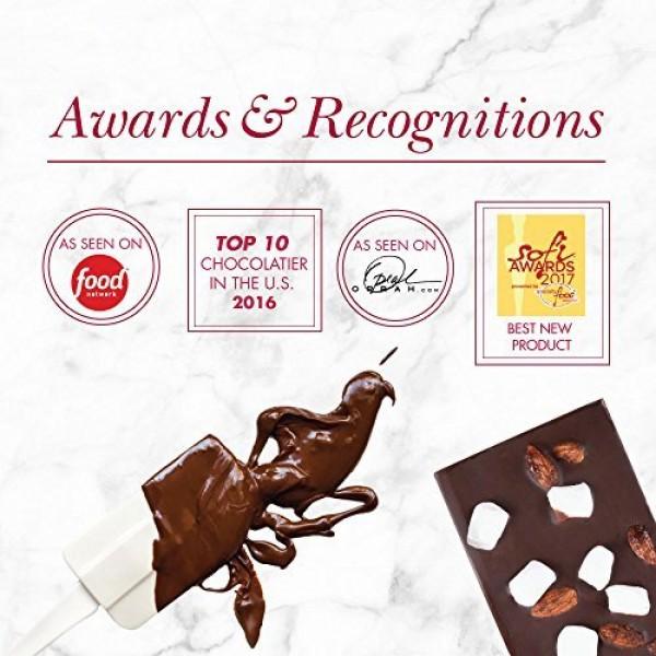 Chocolate Bars - Chuao Chocolatier Triple Nut Temptation Chocola...