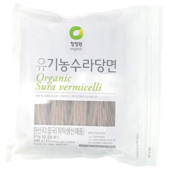Chung Jung One Organic Sura vermicelli Sweet Potato Glass Noodle...