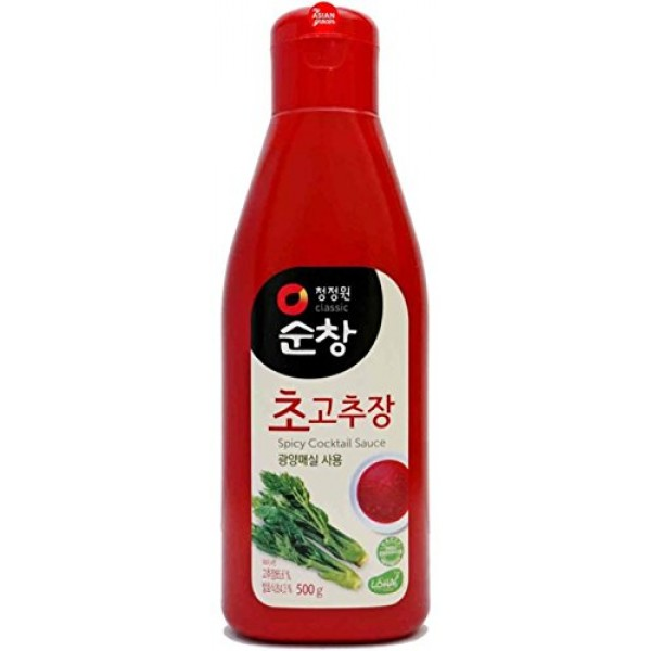 Chungjungone Sunchang Spicy Cocktail Sauce 300g - 6 Pack