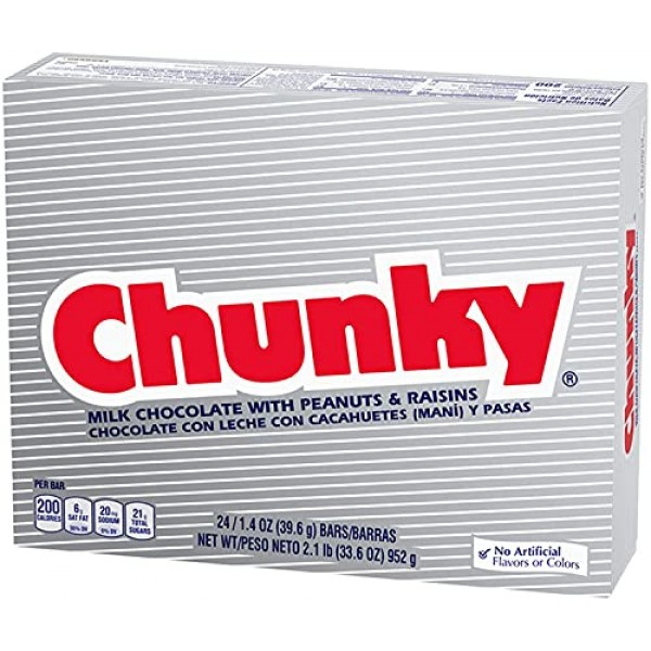 Chunky Share Pack, Bulk Individually Wrapped Milk Chocolate Ferr...