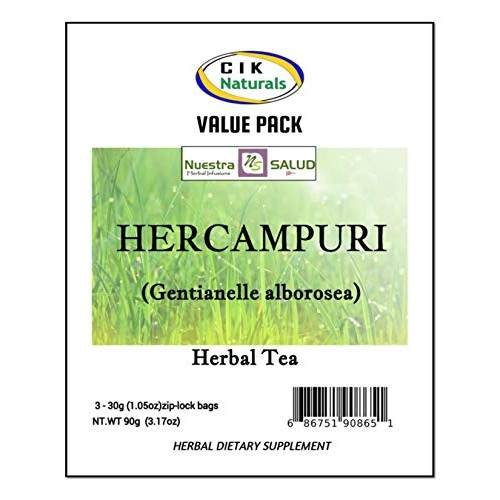 Hercampuri Herbal Infusion Tea Value Pack 90g