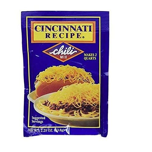 Cincinnati Recipe Chili Mix 2.25 Oz (pack of 3)