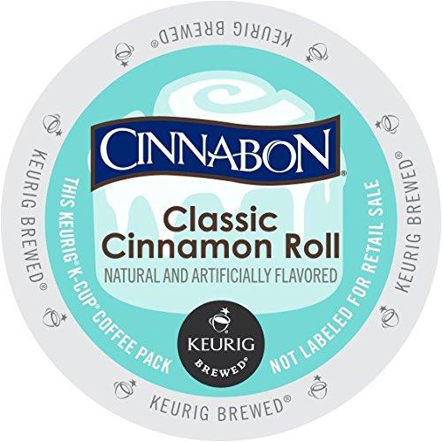Cinnabon Classic Cinnamon Roll K-Cup Coffee 96 count