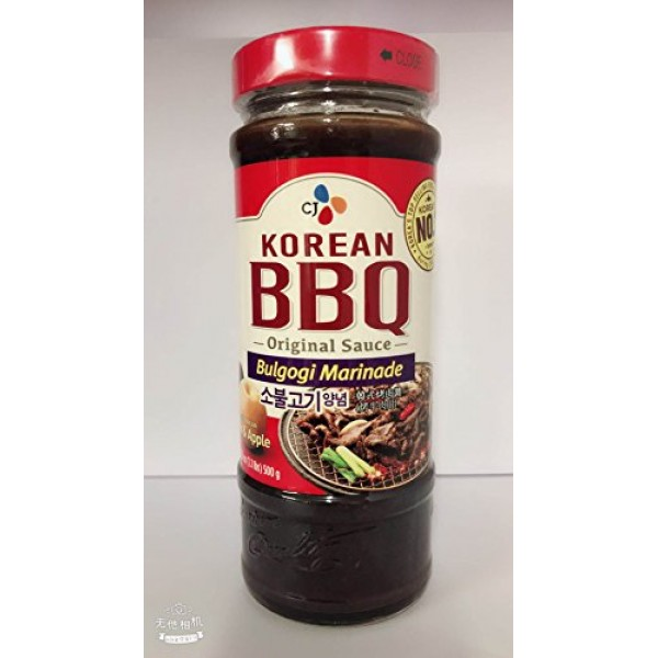 CJ Korean BBQ Bulgogi Marinade/Chicken&Pork Marinade/Kalbi Marin...