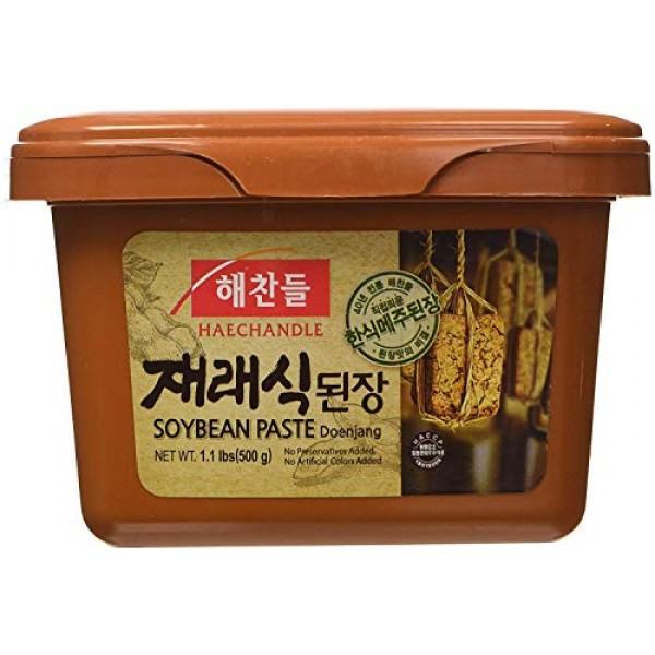 Jaeraesik Soybean Paste 1.1 lb By CJ Haechandle - PACK OF 2