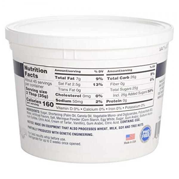 Celebakes Whimsical White Premium Buttercream Icing 3.5 Pounds
