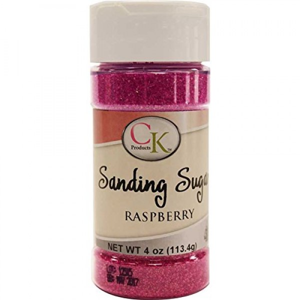 CK Products 78-50514 Cake Decorating Sanding Sugar Bottle, 4 oz,...