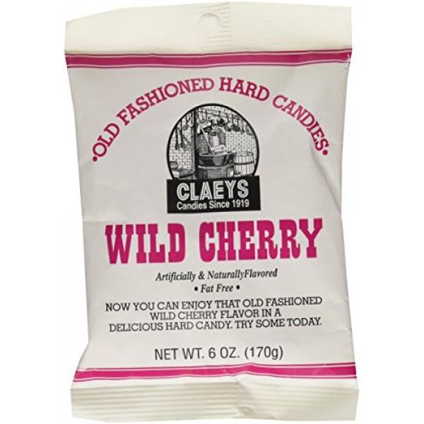 Claeys Wild Cherry Drops - 6 oz pack