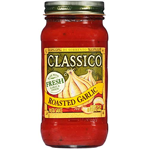 Classico Roasted Garlic Pasta Sauce, 24 oz Jar