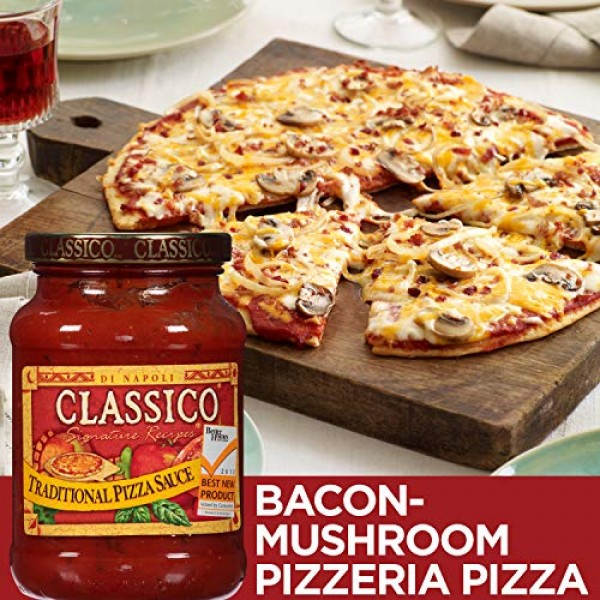 Classico Traditional Pizza Sauce 14 oz Jar