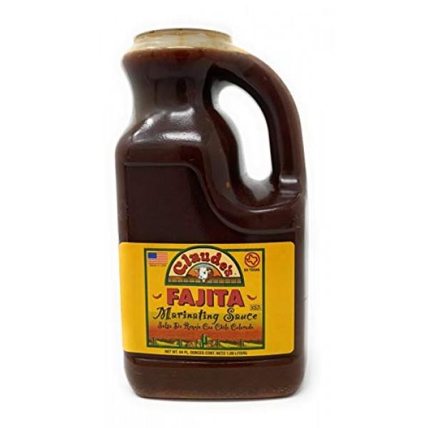 Claudes Fajita Marinating Sauce 64 Ounce Jug