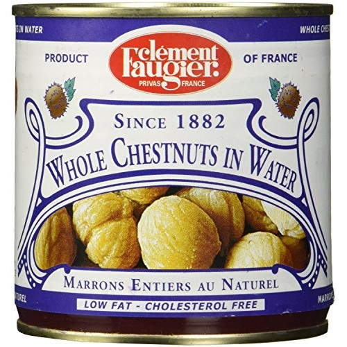 Clement Faugier Whole Chestnuts in Water - Low Fat, Cholesterol ...