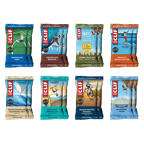 CLIF BAR - Energy Bars - Best Sellers Variety Pack - 2.4 Ounce ...