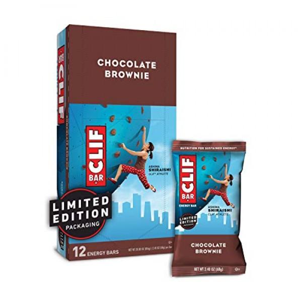 CLIF BAR - Energy Bars - Chocolate Brownie - 2.4 Ounce Protein ...