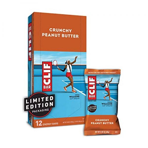 CLIF BAR - Energy Bars - Crunchy Peanut Butter - 2.4 Ounce Prot...