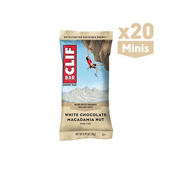 CLIF BAR - Mini Energy Bars - White Chocolate Macadamia Nut Flav...