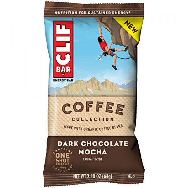 CLIF BARs with 1 Shot of Espresso - Energy Bars - Coffee Collect...