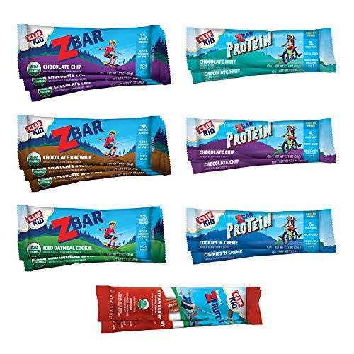 Clif Kid ZBAR, ZBAR Filled, ZBAR Protein & ZFruit - Organic Gran...