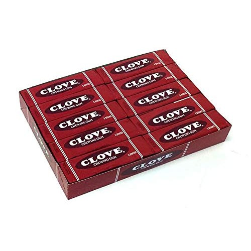Clove Chewing Gum, 5 Sticks, 20 Count