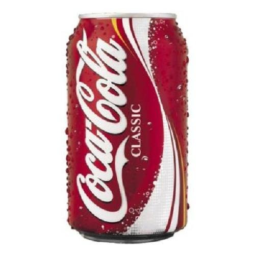 Coca Cola Classic, 12-Ounce Cans Pack of 24