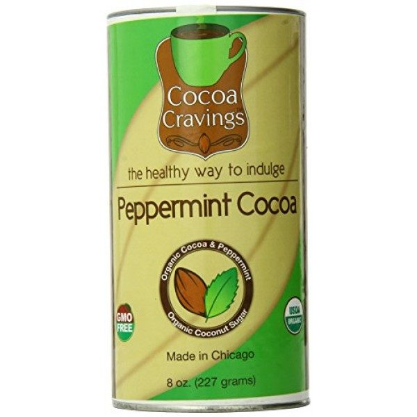 Cocoa Cravings Hot Cocoa, Peppermint, 8 Ounce
