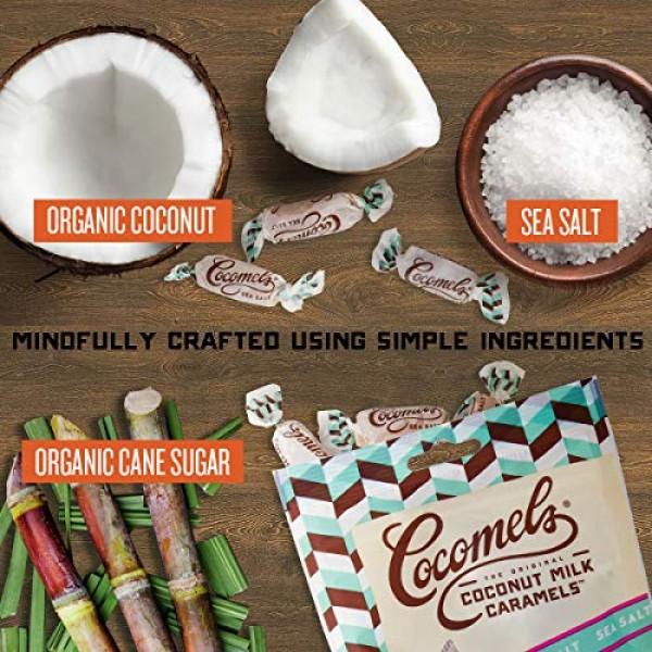 Cocomels Coconut Milk Caramels, Original, Sea Salt, and Coconut ...