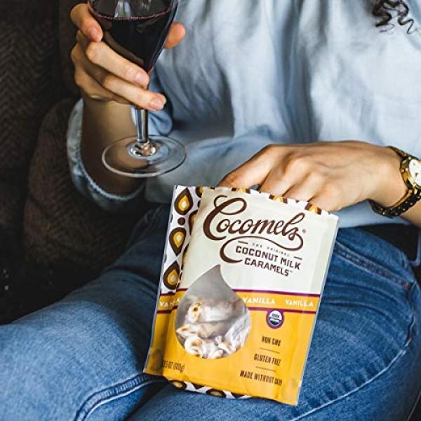 Cocomels Coconut Milk Caramels, Vanilla Flavor, Organic Candy, D...
