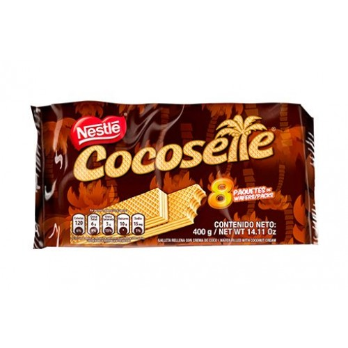 Cocosette - Pack of 8 400g - Wafer Cookie Filled with Coconut ...