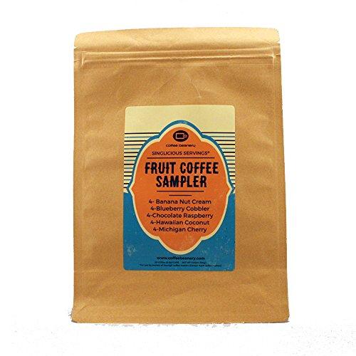 The Fruit Coffee Sampler Singlicious Single-cup Coffee Pack Samp...