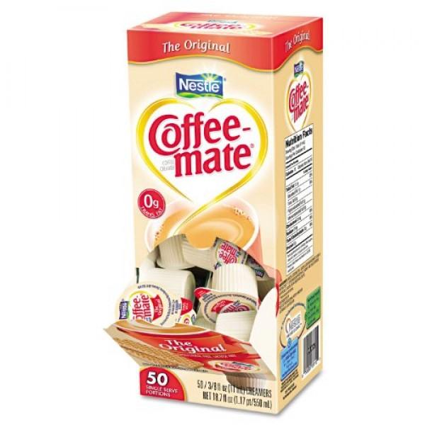 Nestle Coffee-mate Liquid Creamer Original 3-pack;50 Count Each.