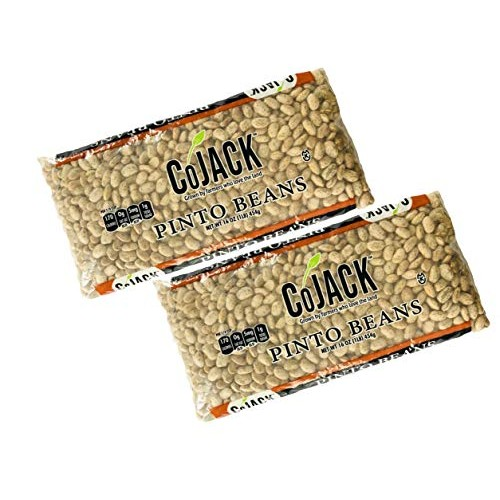 Pinto Beans by CoJack 1lb | Pack of 2 | Delicious and Nutritious |