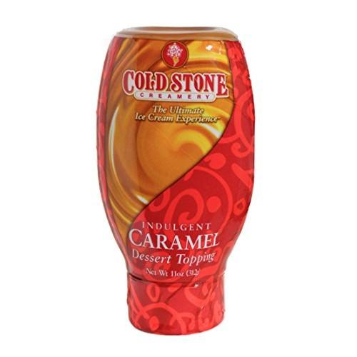 Cold stone dessert topper caramel