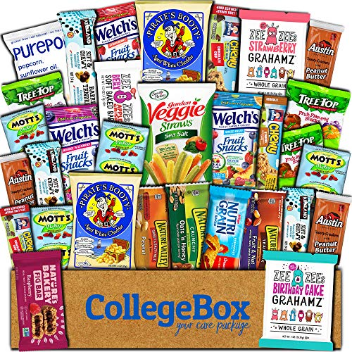 CollegeBox - Healthy College Care Package 30ct - Granola bars,...