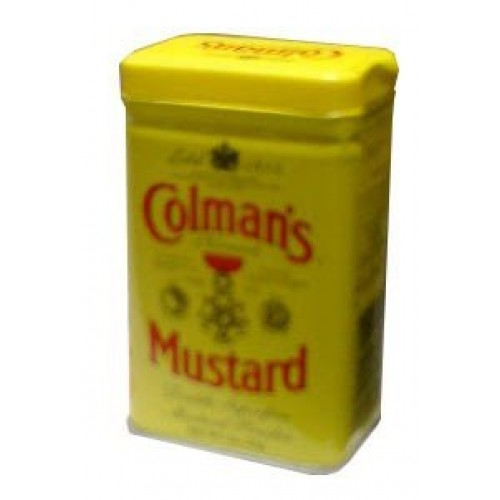 Mustard Powder, Dry English Colmans 2 oz 57 g