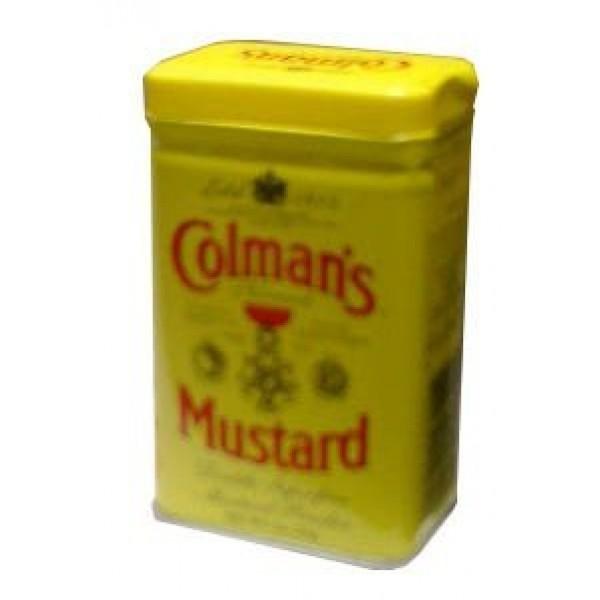Mustard Powder, Dry English Colmans 2 oz 57 g