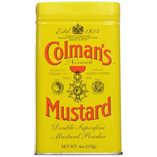 Colmans Dry Mustard 4 oz